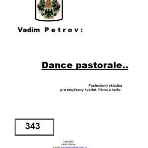dance pastorale
